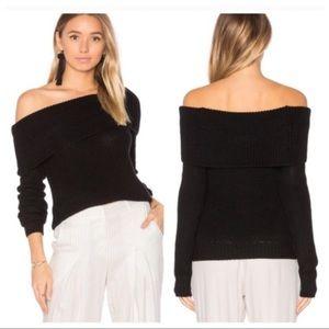 Lovers + FriendsVLuna Off The Shoulder Sweater